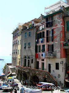 イタリアらしい街並み