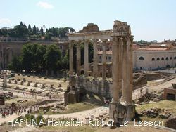 サトゥルヌスの神殿あたり
