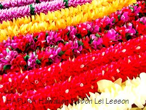 Hawaiian Ribbon Leis