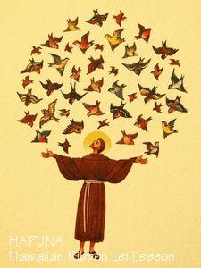 聖フランチェスコのカード